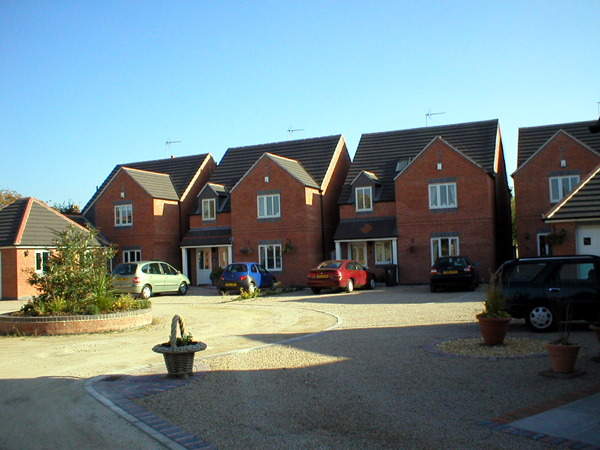 Example of a housing development